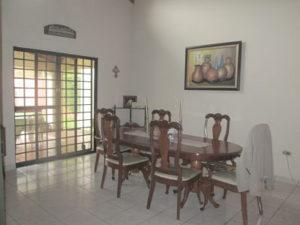 Comedor Casa Residencial Las Colinas