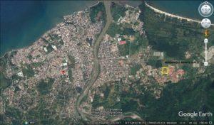 Mapa de ubicación Residencial Monte Carlo. La Ceiba, Honduras..