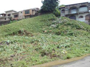 Vista general Terreno residencial Las Colinas. La Ceiba Honduras