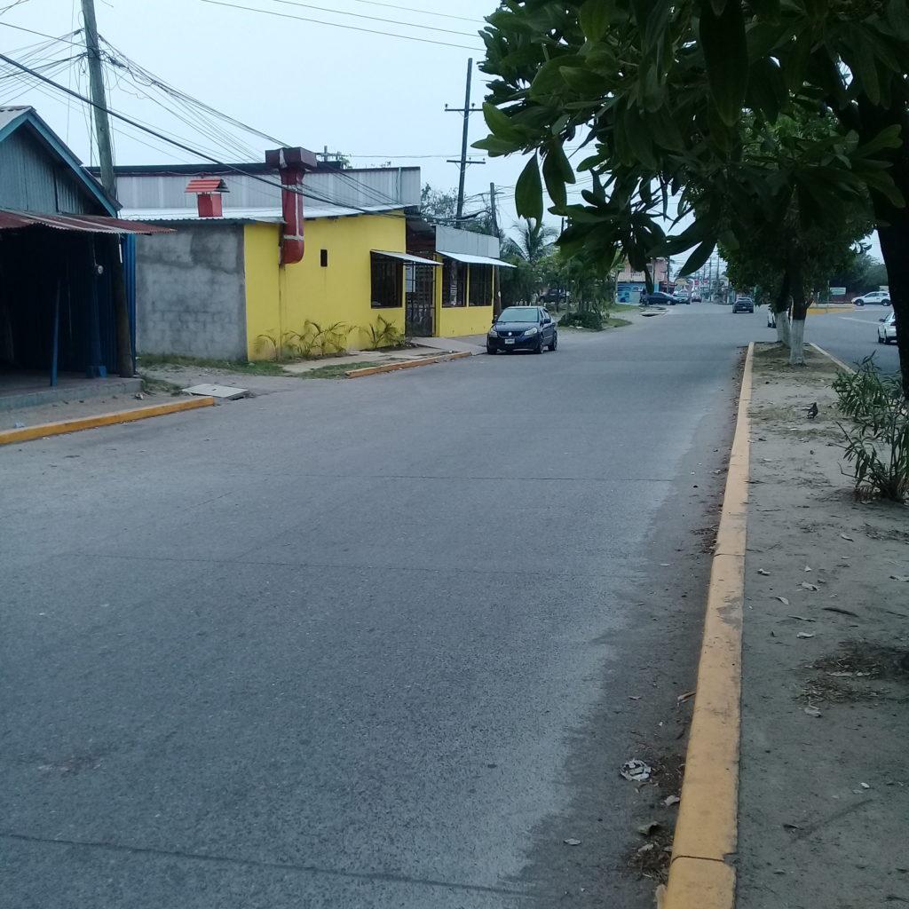 boulevard frente al inmueble